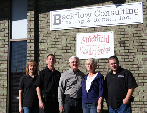 The Backflow Leadership Team
